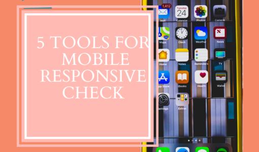 mobile responsive check